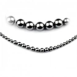 Perlový náhrdelník čierny...