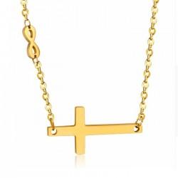 Zlacený náhrdelník s...