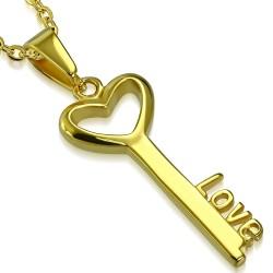 Přívěsek Zlacený klíč...