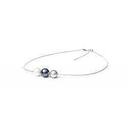 Stříbrný náhrdelník s perlami Gaura Pearls SK19220N